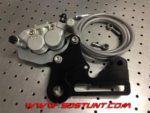 Suzuki Drz 125 >> KTM DUAL CALIPER REAR HANDBRAKE THIRD BRAKE