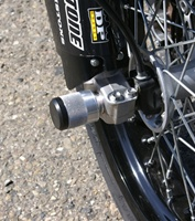 APRILIA SXV FRONT AXLE SLIDERS ESD MANUFACTURING