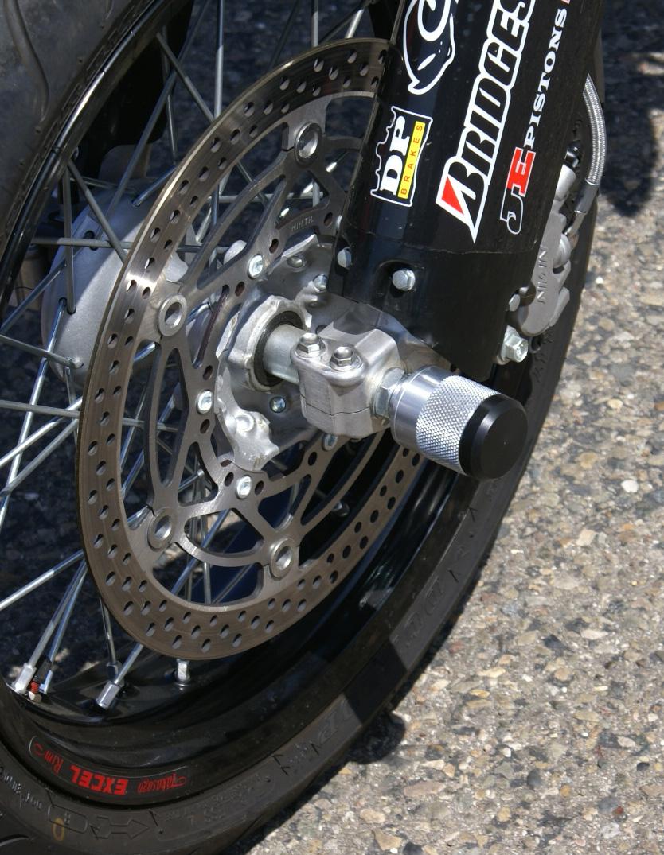 Yamaha  Front Axle