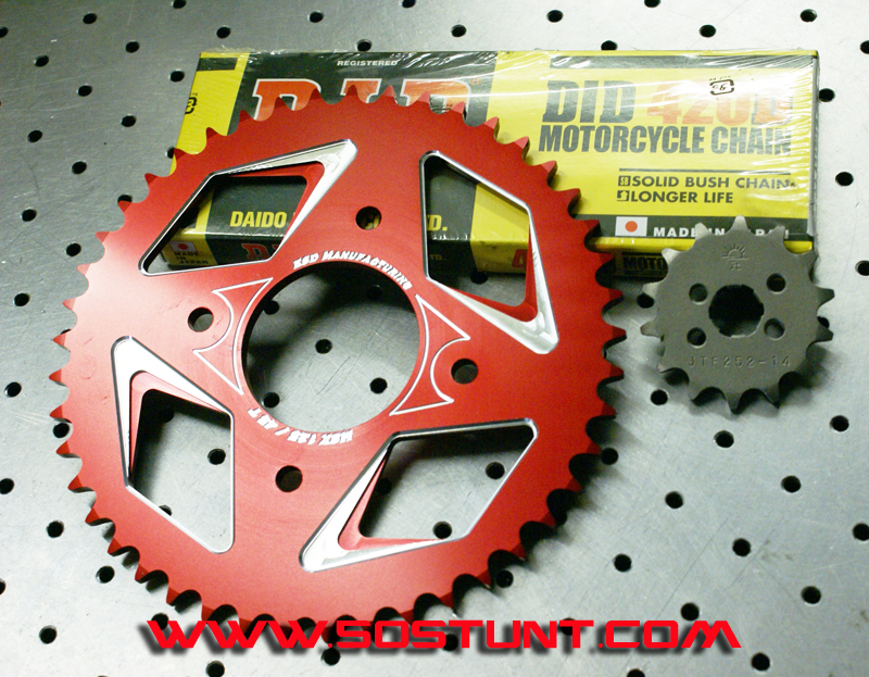 Honda Msx125 Grom Parts Sprockets Chain Tires Pegs Stunt Pegs