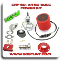 CRF 50 XR 50 50CC POWER KIT, CARB, CAM, CDI BOX