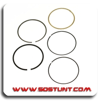 Piston 52mm Ring Set (88cc)