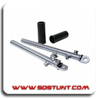 CRF50 XR50 FRONT CHROMOLY FORK LEGS; CRF 50 FRONT FORKS; CRF50 FOR LEGS; CRF50 SUSPENSION KIT;