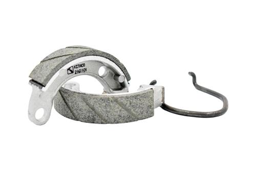 Rear Grooved Brake Shoes For Honda XR50 XR 50R 00-03