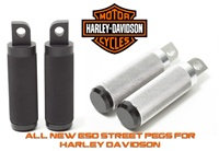 ESD HARLEY DAVIDSON FOOTPEGS SPORTSTER FXR BILLET ALUMINUM ANODIZED CNC MACHINED AMERICAS BEST HARLEY DAVIDSON FOOTPEG