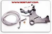 HONDA CRF DUAL CALIPER HANDBRAKE THIRD BRAKE KIT